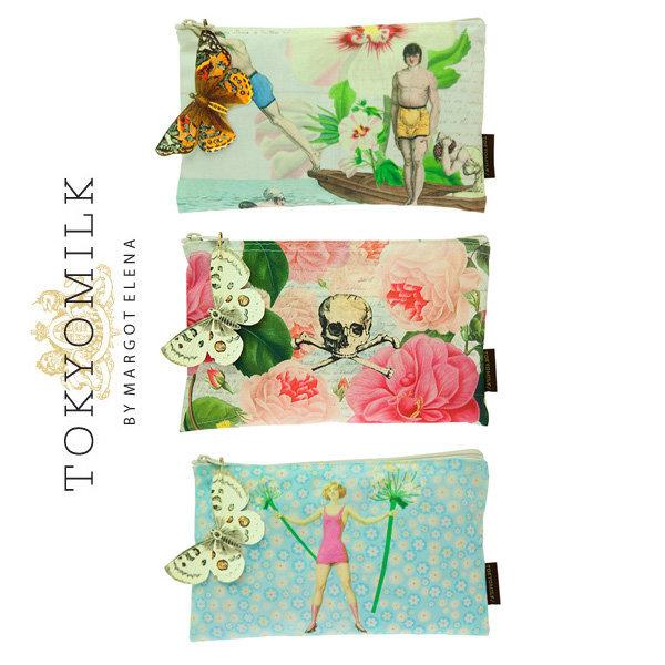 도쿄밀크(TOKYOMILK) 화장품 파우치 / 6가지 패턴 상품이미지