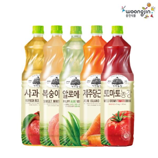 (현대Hmall) 웅진식품 가야농장 제주감귤농장 주스 1.5L x 4페트 外 8종 상품이미지