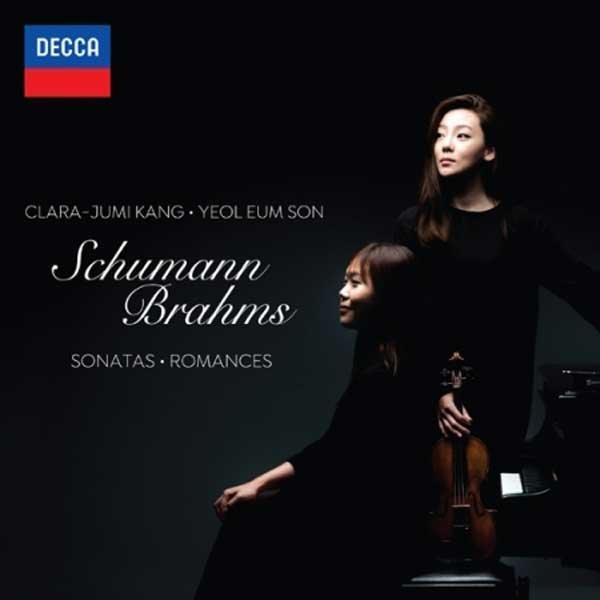 클라라 주미 강   손열음 (Clara Jumi Kang + Yeoleum Son) / Schumann   Brahms: Violin Sonatas Romances 상품이미지