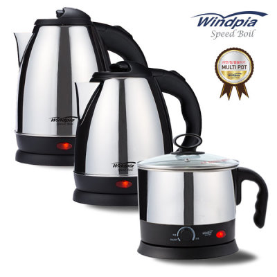 Stainless steel coffee pot electric kettle tea pot ramyeon pot