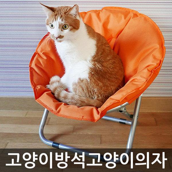 묘심猫心-문체어 고양이방석 고양이의자 애견방석 상품이미지