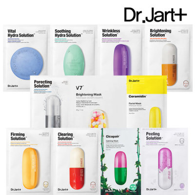 Dr.Jart+ mask pack 11 kinds vital/soothing/ceramidin