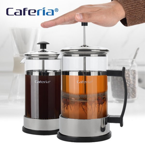 Caferia 스텐내열 커피티메이커 600ml - CP2  프렌치프레스/커피프레스/우유거품기/티용품/커피용품 상품이미지