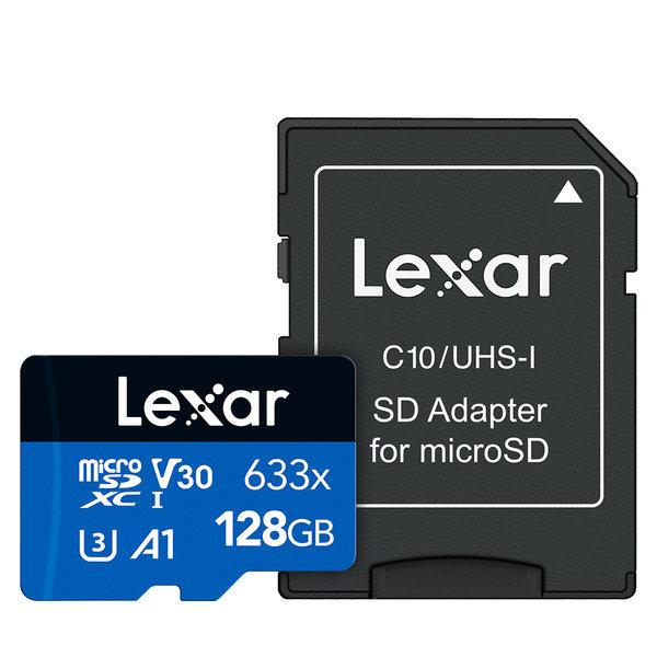 렉사 공식판매원 스마트폰용 마이크로SD 633X 128GB 상품이미지