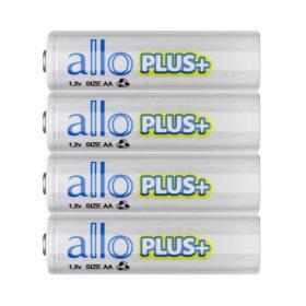 제이티원/allo PLUS/에네루프형 AA충전지/4알+케이스