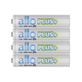 제이티원/allo PLUS/에네루프형 AAA충전지/4알+케이스