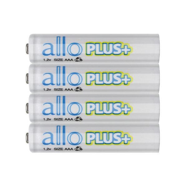 알로 플러스 AAA 충전지 4알 케이스포함 상품이미지