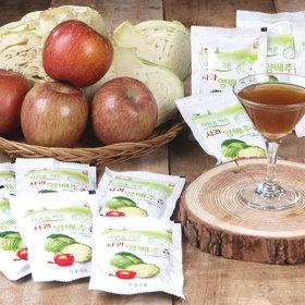 자연식품 국내산 양배추즙 30팩+30팩 (100ml)