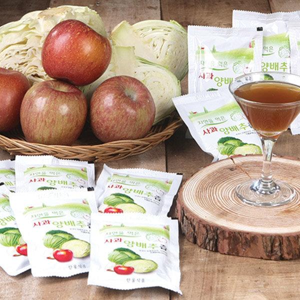 자연식품 국내산 양배추즙 30팩+30팩 (100ml) 상품이미지
