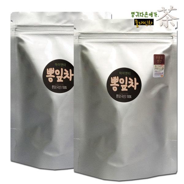 국산 건강차 TEA 뽕잎차 40개입 티백차 +수제비누증 상품이미지