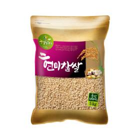 현미찹쌀 5kg (국내산) /2019년산 햅쌀
