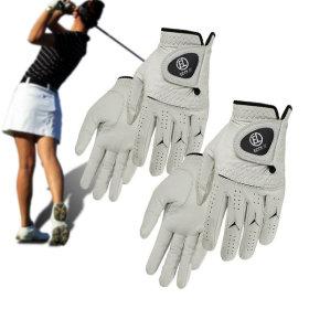 양피 골프장갑 여성용(2켤레) 세트/천연양피 프로용