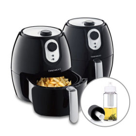 DAEWOO Air fryer / DEF-D2600 / timer / low fat healthy cooking /