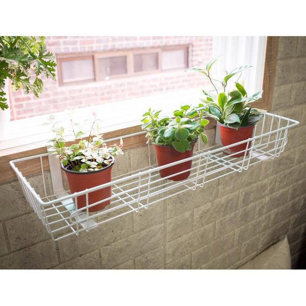 창틀선반/베란다 화분걸이 욕실 세탁기 벽선반 주방 상품이미지