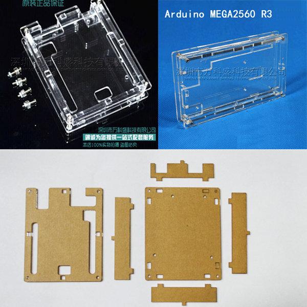 아두이노 uno R3 개발보드 케이스 투명아크릴 케이스 상품이미지