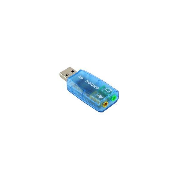 당일배송  미니 USB 사운드카드/ USB오디오카드 상품이미지