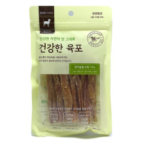 굿데이 건강한육포_닭가슴살 스틱_100G