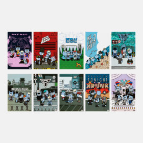 YGESHOP/-/10th/KRUNK/X/BIGBANG/POSTER/SET