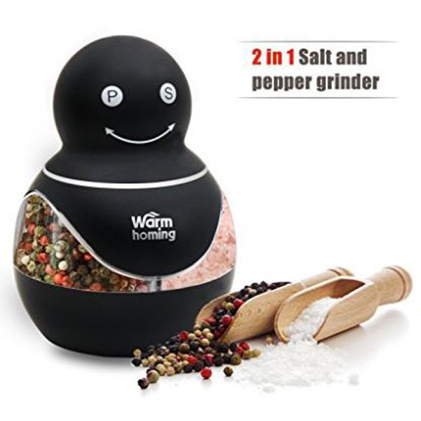 Salt and Pepper Grinder - Best 2-in-1 상품이미지