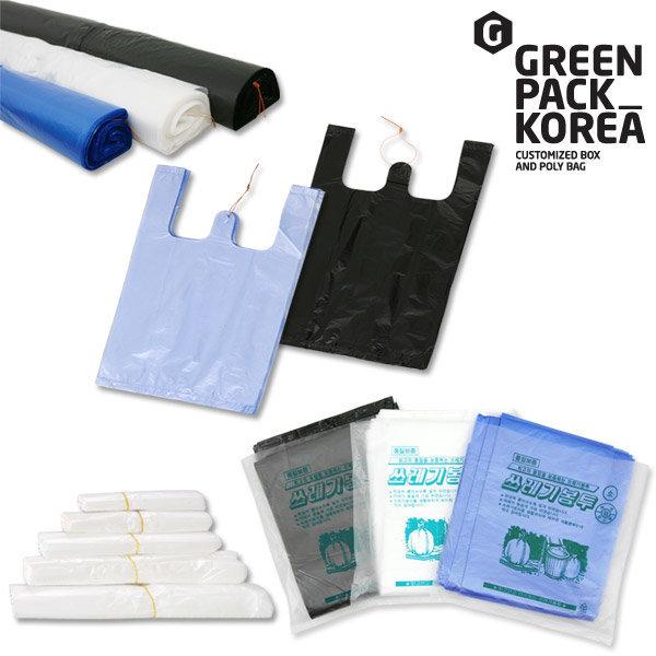 비닐봉투 쓰레기봉투 / 재활용마트봉지봉다리김장롤팩 상품이미지