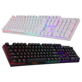 ((장패드 증정))ABKO K640 LED 게이밍 기계식 키보드