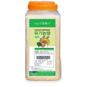 냉장고에쏘옥_유기농쌀_2KG 통