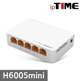 EFM ipTIME H6005 기가 스위치허브 5포트 GIGA스위칭