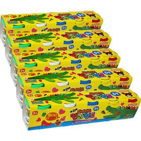 칼라점토 5색 /찰흙 클레이 아이클레이 점토