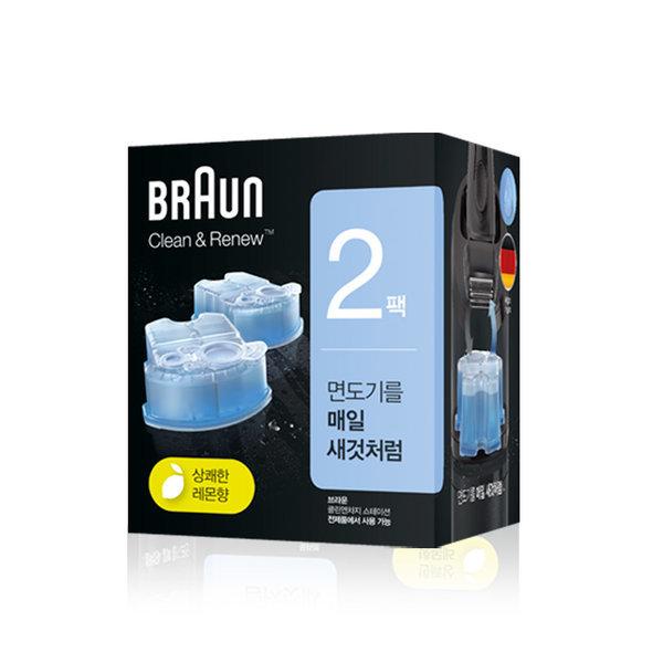 브라운 전기면도기 세정액 CCR2 상품이미지