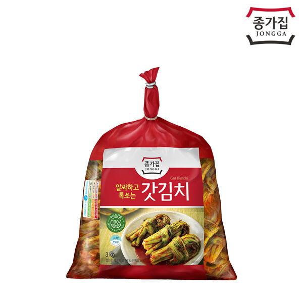 (현대Hmall) 종가집  돌산갓김치 3kg 상품이미지