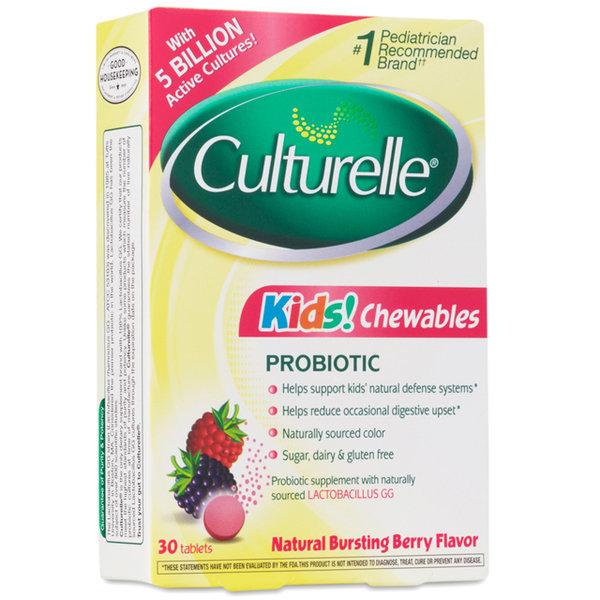 컬처렐 어린이용 씹어먹는 유산균 30정-봄트레이드 상품이미지