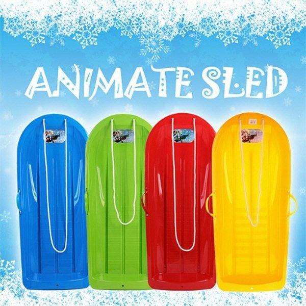 ANIMATE 애니매이트 눈썰매 블루/레드 100% 국내생산 상품이미지