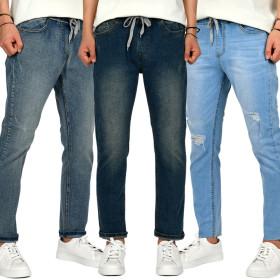 Summer/New Arrivals/Men/Big Size/Pants/Span/Linen