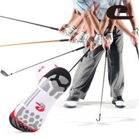 골프양말 (남성) 슬라이스방지 / 특허 /실리콘 논슬립