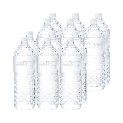 SPARKLE mineral water 2L X 24 bottles