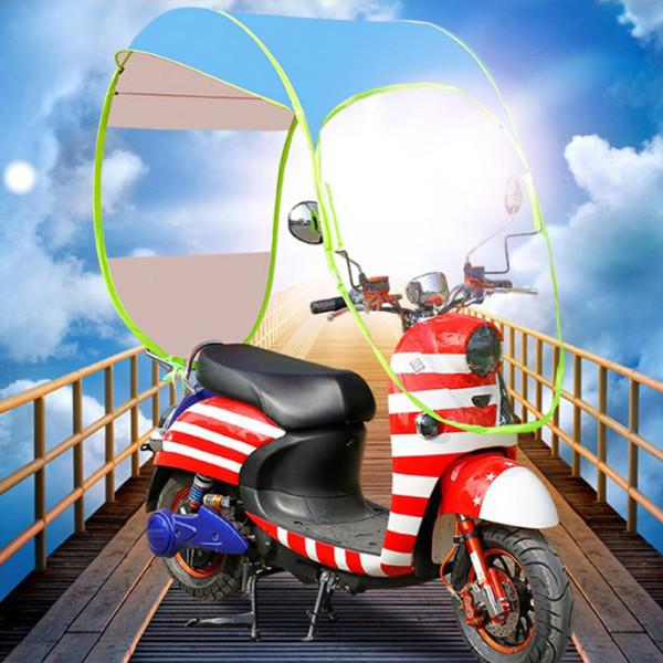 전천후 스쿠터지붕 덮개 스쿠터우산 오토바이 배달 상품이미지
