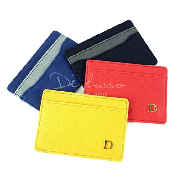 디루소 메트로폴리스 카드포켓/네이비/지갑/명함 상품이미지