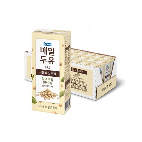 매일두유 99.89 190ml 24팩/식이섬유/두유/음료수 상품이미지