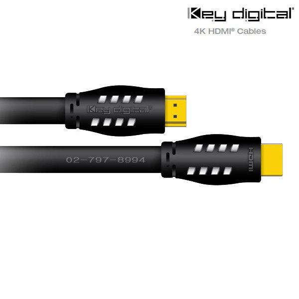 PS4Pro 4K HDR HDMI2.0a 케이블 KeyDigital KD-Pro6 상품이미지