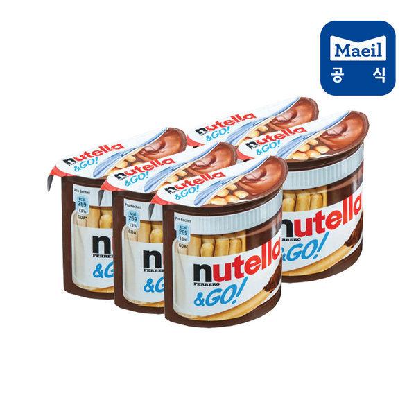 누텔라앤고 T1 5개/과자/초콜릿 상품이미지