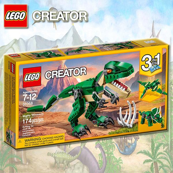 레고 31058 힘센 공룡 /국내 /당일출고 상품이미지