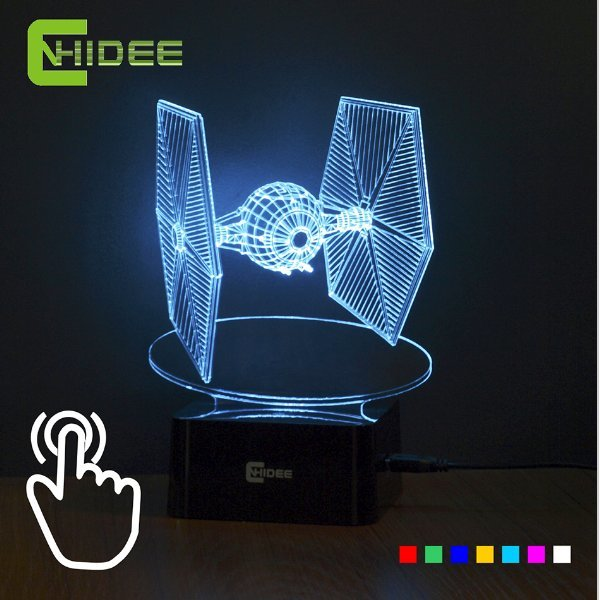 해외배송 조명 장식 램프 나이트 LED 스타워즈 3D 상품이미지