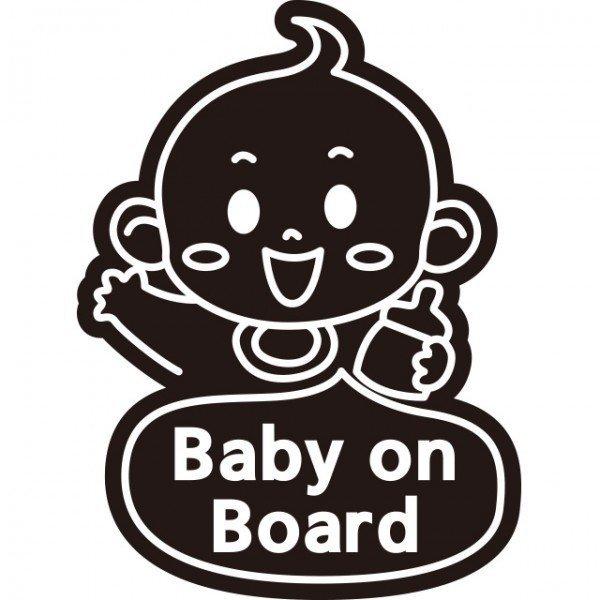Baby on board - 베이비 단색 스티커(21) 상품이미지