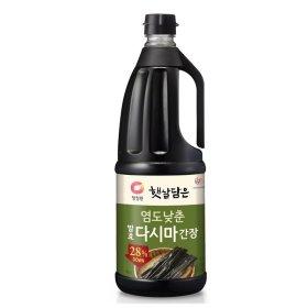 대상_청정원염도낮춘발효다시마간장_1.7L