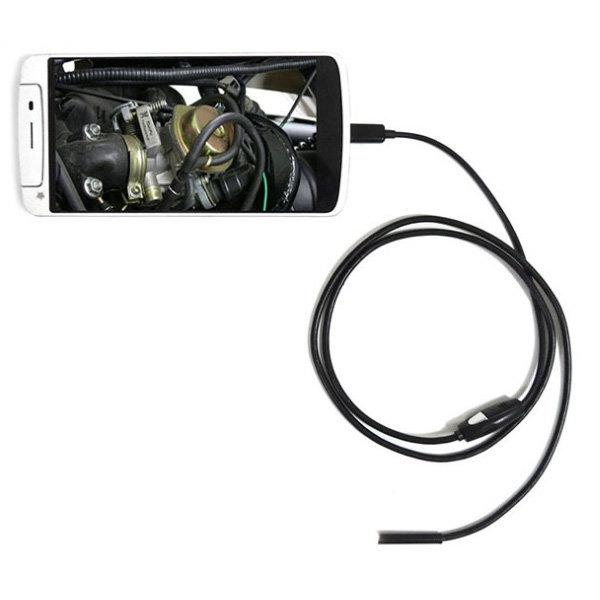 KC인증 스마트폰 내시경카메라 1M 2M 3.5M PC USB지원 상품이미지