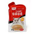 고양이간식 쮸루쮸루 24개 고양이 파우치 원데이케어