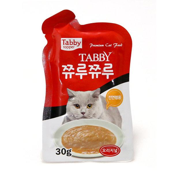 고양이간식 쮸루쮸루 24개 고양이 파우치 원데이케어 상품이미지