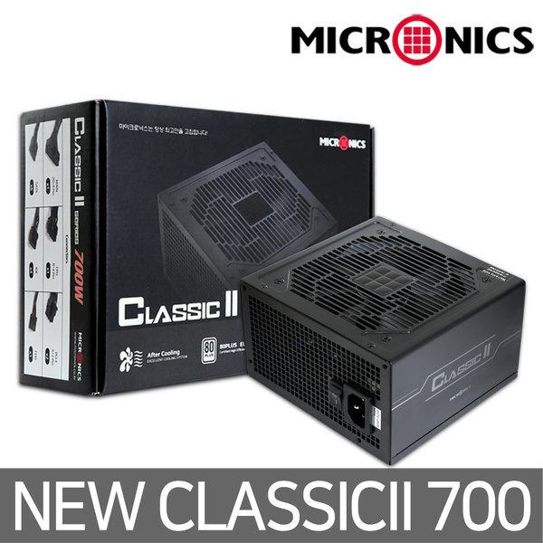 Classic II 700W +12V Single Rail 85+ 파워서플라이 상품이미지