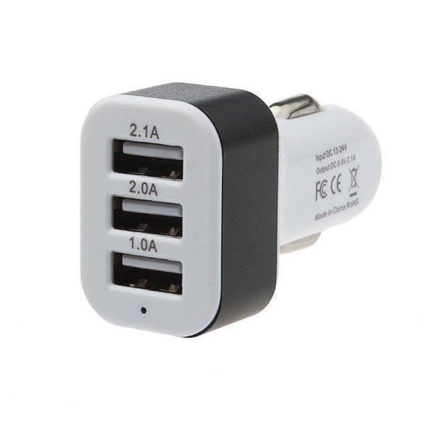 당일배송 3포트 차량용 USB 충전기 2V 24V 5V 상품이미지