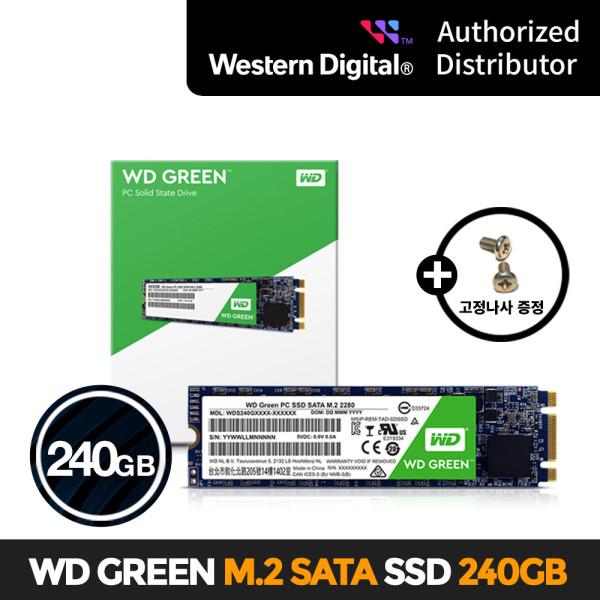 WD Green M.2 2280 SSD 240GB WD한국공식총판/AS 3년 상품이미지
